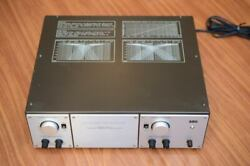 Luxman A2002 Electronic Crossover 2way Tube Valve For Tannoy/altec/jbl Speaker