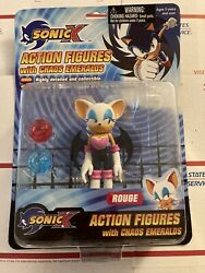 Sonic X Rouge Figure Rare Toy Island Toys R Us New Accessories Chaos Emeralds