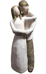 """Willow Tree Statue Loving Couple Figurine """"together"""" Vintage 2000"""