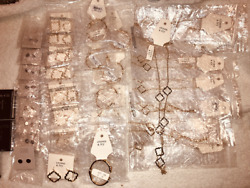 Nwt Jewelry Resale Wholesale Lot More Earrings Necklaces Free Shipping
