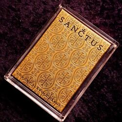 Sanctus Luxury Playing Cards By Lotrek Oath Playing Cards 350 Made