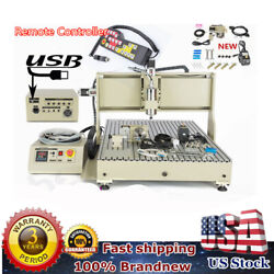 2.2kw Usb 4 Axis Cnc 6090 Router Engraver Woodworking Machine With Controller
