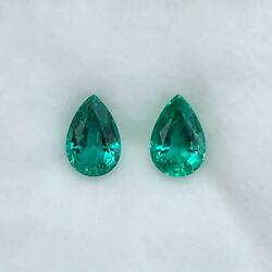 2.64 Cts_awesome Minor Oil Top Quality 100 Natural Emerald Pair Mine Zambia