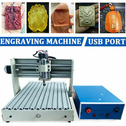 Usb 3axis Cnc3040 Router Engraver Engraving Milling Machine Wood Cutting 400w Eu