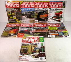 Kalmbachmagazinesclassic Toy Trains2012complete Yearo And S-gauge Model Train