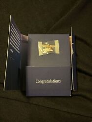 Delta Airlines Service Award Pin 10k Gold With 4 Diamonds