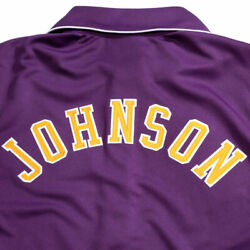 Mitchell And Ness Lakers 1987-88 Authentic Magic Johnson Purple Shooting Shirt 4xl