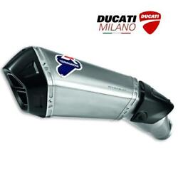 Set Silencer Approved Lower 96480051a For Duati Hypermotard 821