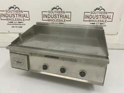 Keating Miraclean Griddle 36x24ld 480v 60hz 8.2kw Back/right/left Clearance