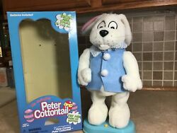 Gemmy Hip Swinging Here Comes Peter Cottontail 1998 Singing Dancing With Box 14andrdquo