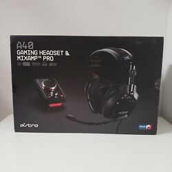 Astro A40 Mlg Dolby Wired Gaming Headset + Mixamp Pro Pc / Xbox / Ps3 / Mac