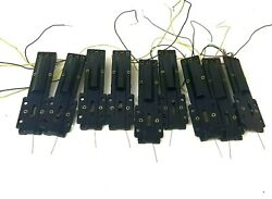 Lot Of 9 Atlas Snap Switch Relays