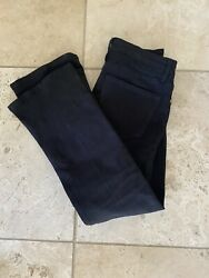 New Style -worn Once -amazing Frame Black Le Crop Mini Bootcut Jeans Sz 26 220