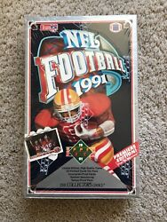 1991 Upper Deck Nfl Football Low Series Factory Sealed Hobby Box