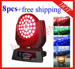 3615w Rgbwa 5 In 1 Led Moving Head Zoom Moving Head Wash 8pcs Free Shipping