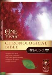 The One Year Chronological Bible Nlt - Mp3 Cd By Busteed, Todd - Very Good
