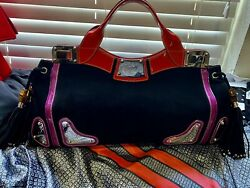 gucci romy suede bag $600.00