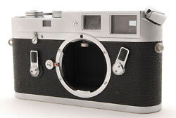 [almost Mint] Leitz Leica M4 35mm Rangefinder Film Camera Body From Japan