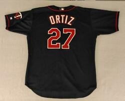 David Ortiz Minnesota Twins 2002 Game Issue Russell Athletic Jersey Size 52 +2