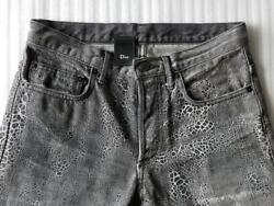 Dior Homme Omedi Sli E Wax Dyed Denim Made In Japan Size 28