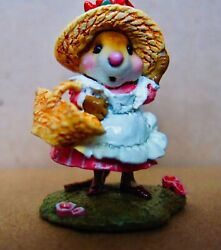 Wee Forest Folk To Market M-348 Only Produced From 2007 To 2009