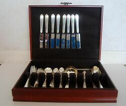1939 Rare Windermere Simpson, Hall, Miller And Co.sterling Silver Set Of 8 Monogr