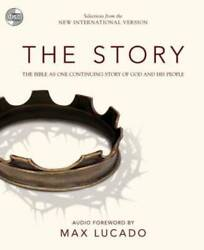 Niv, The Story, Audio Cd The Bible As One Continuing Story Of God A - Very Good
