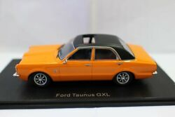 New 1/43 Scale Ford Taunus Gxi Resin Car Model For Collection