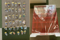 Final Fantasy 36 Figures And Coca-cola 2000 Collection Case With Special Items