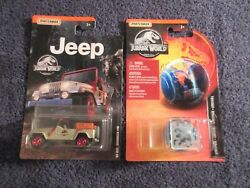 2 Matchbox And03993 Jeep Wrangler 10 And Girosphere Jurassic Park 164 2019
