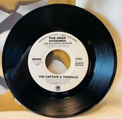 The Captain And Tennille Por Amor Viviremos Spanish Love Will Keep Us Together