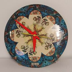 Peter Max Vintage Mid Century Wall Clock 50's General Electric