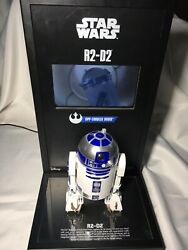 Rare R2-d2 Sphero Star Wars Store Display With Lcd Video Monitor