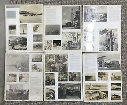 Vintage Lot Of 6 Socony Mobil Promo Exhibition Real Photo Sign Boards Display