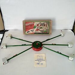 Rare The Trapper Greyhound Racing Game In Its Original Box
