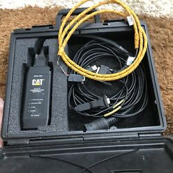 Caterpillar Communication Adapter 2. With All Cables To Connect To All Machine