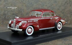 1940 Cadillac Lasalle Ser 50 Coupe 1/43 N Diecast 46646 Neo Resin Models Matrix