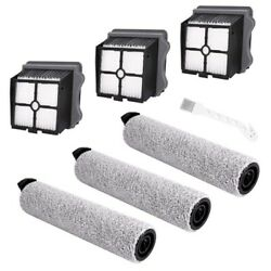 50xreplacement Brush Roller And Vacuum Filter Suitable For Tineco Ifloor