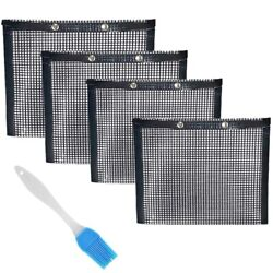 50xbarbecue Mesh Bag Non-stick Barbecue Bag Barbecue Reusable And Easy To Clean