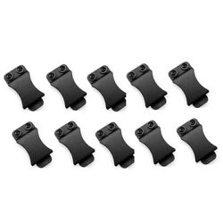 50x10pcs/lot Clips For 1.5 Inch Belts For Kydex Belt Clip Loop With Screw Fits