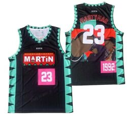 1992 Martin Payne Tv Show Marty Mar 23 Lawrence Basketball Jersey Menand039s Sewn