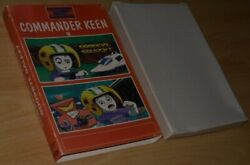 Commander Keen Gg + Cosmoand039s Cosmic Adventure Apogee Ibm Pc Dos Boxed Uk V.