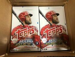 2018 Topps Series 2 Hobby Box From Sealed Case Ohtani Rc Acuna Bat Down