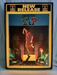 Rca Columbia Pictures Home Video Lightbox Display + Tap Movie Poster Panel Promo