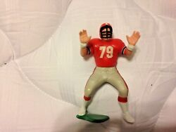 1989 Bill Fralic Starting Lineup Figure And Collector Card Atlanta Falcons