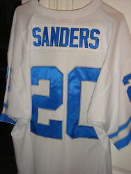 Authentic Barry Sanders Mitchell And Ness Jersey Detroit Lions Throwback 1996