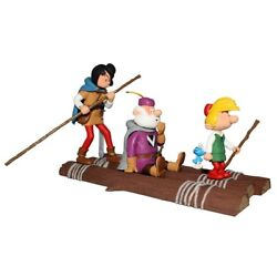 Collectible Figurine Johan And Peewit On The Raft, The Cursed Country 2018