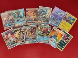 Pokemon Card Lot Official Tcg Cards Ultra Rare Included - Gx Ex Full Art + Holos