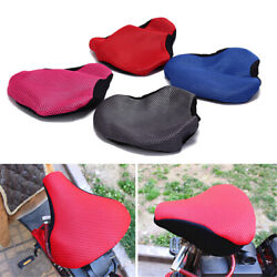 Cycling For Bicycle 3d Soft Seat Cover Saddle Bike Accessories Seating Cushion