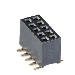 1.27mm Female Pin Header Socket Double Row 2-40pin For Breadboard Pcb Connector